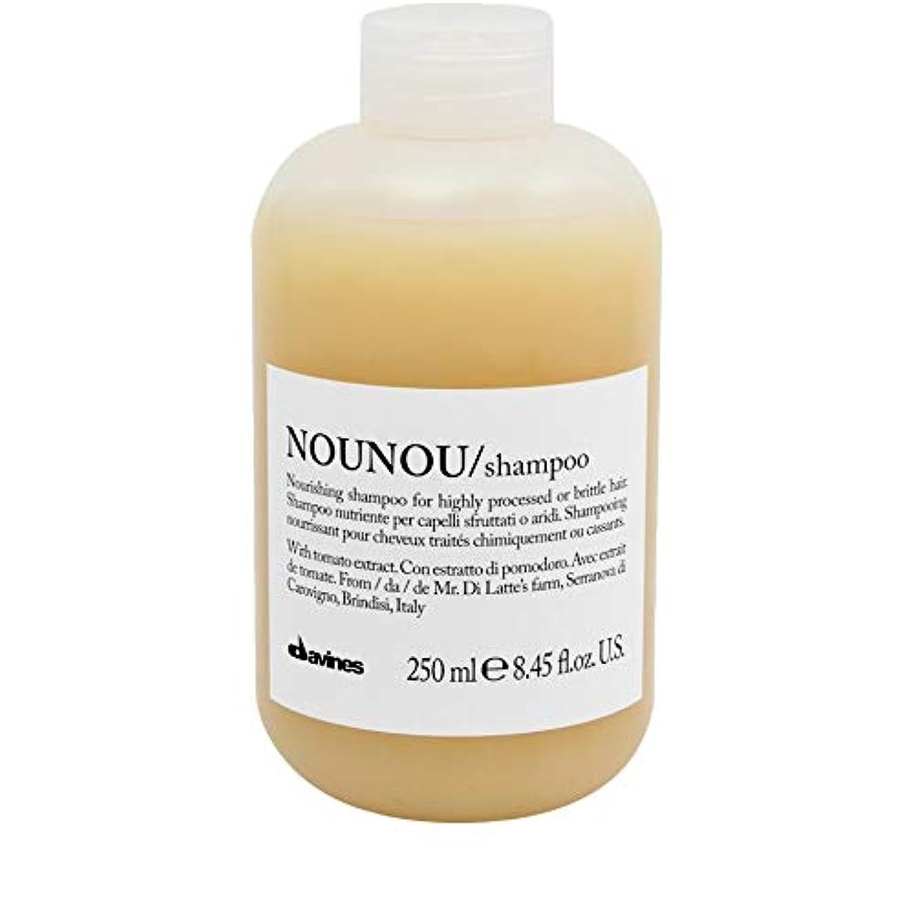 算術契約した危険にさらされている[Davines ] ダヴィネスノウノウシャンプー250ミリリットル - Davines Nounou Shampoo 250ml [並行輸入品]