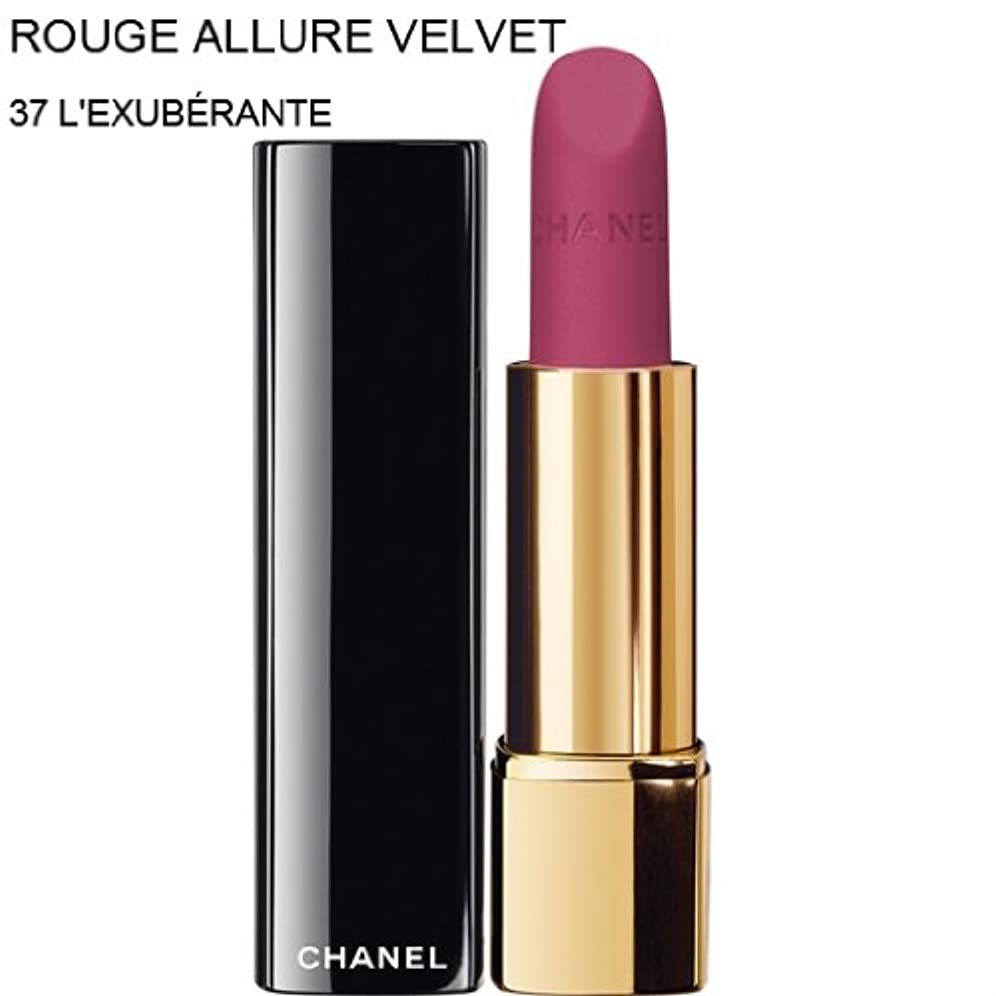 CHANEL-Lipstick ROUGE ALLURE VELVET (37 L'EXUBERANTE) (parallel imported item 並行輸入品)