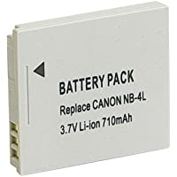 単品』 残量表示付』 Canon キャノン NB-4L 互換 バッテリー IXY 610F DIGITAL L3 L4 10 40 50 55 60 POWER SHOT TX1 NB4L 等対応