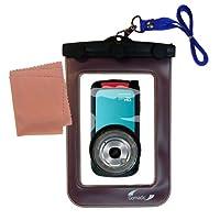 UnderwaterケースのToshiba Camileo bw10防水HDビデオカメラ–天気、安全に保護防水ケースagainst the elements