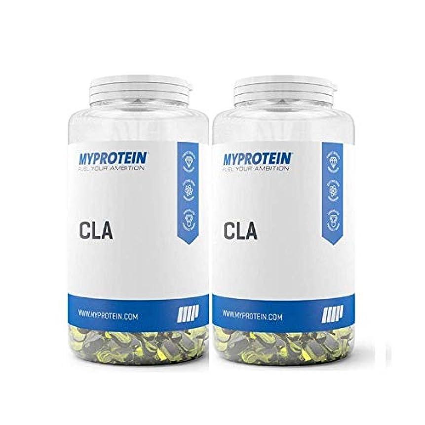 朝レギュラー時間マイプロテイン CLA(共役リノール酸)60錠 2セット