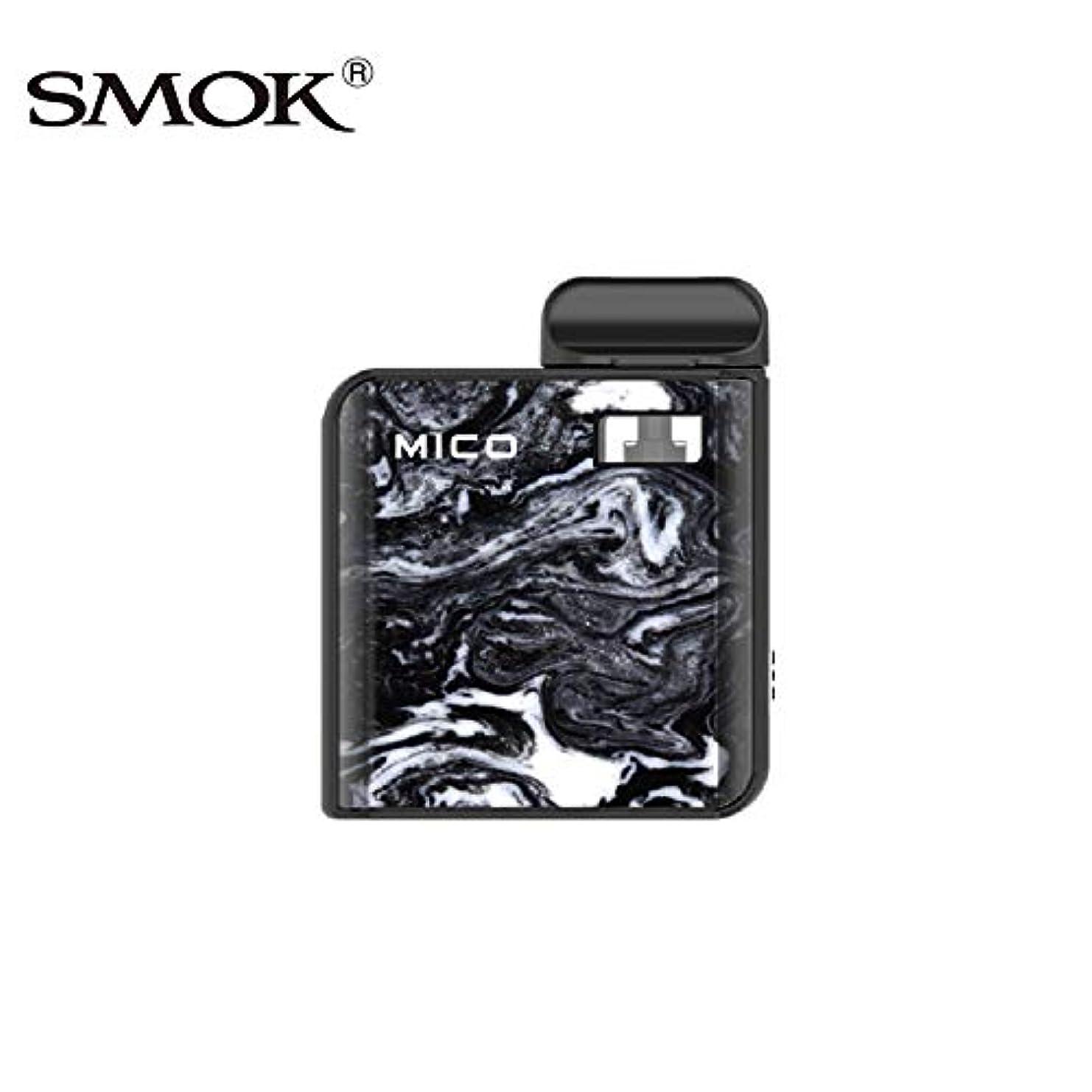 殉教者爪橋【SMOK正規品】MICO Kit 700mAh オールインワンデザイン 電子タバコ (黒 black)