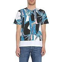 Marni メンズ HUMUZGC108227630100 ホワイト コットン T-シャツ