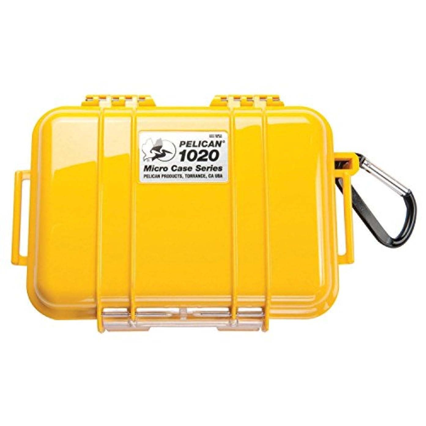 批判的にラウズ湿ったペリカン PELICAN 1020 N 小型防水ハードケース (イエロー) 1020-025-240 [並行輸入品]