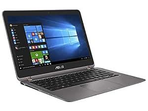ASUS 高性能モバイルノートブック ZenBook Flip グレー UX360UA-6500