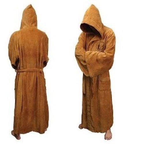 COSPLAYHUT Star Wars Jedi バスローブ スターウォーズ フリーサイズ ロング Bathrobes