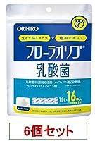 オリヒロ フローラオリゴ乳酸菌 16本 x6個セット