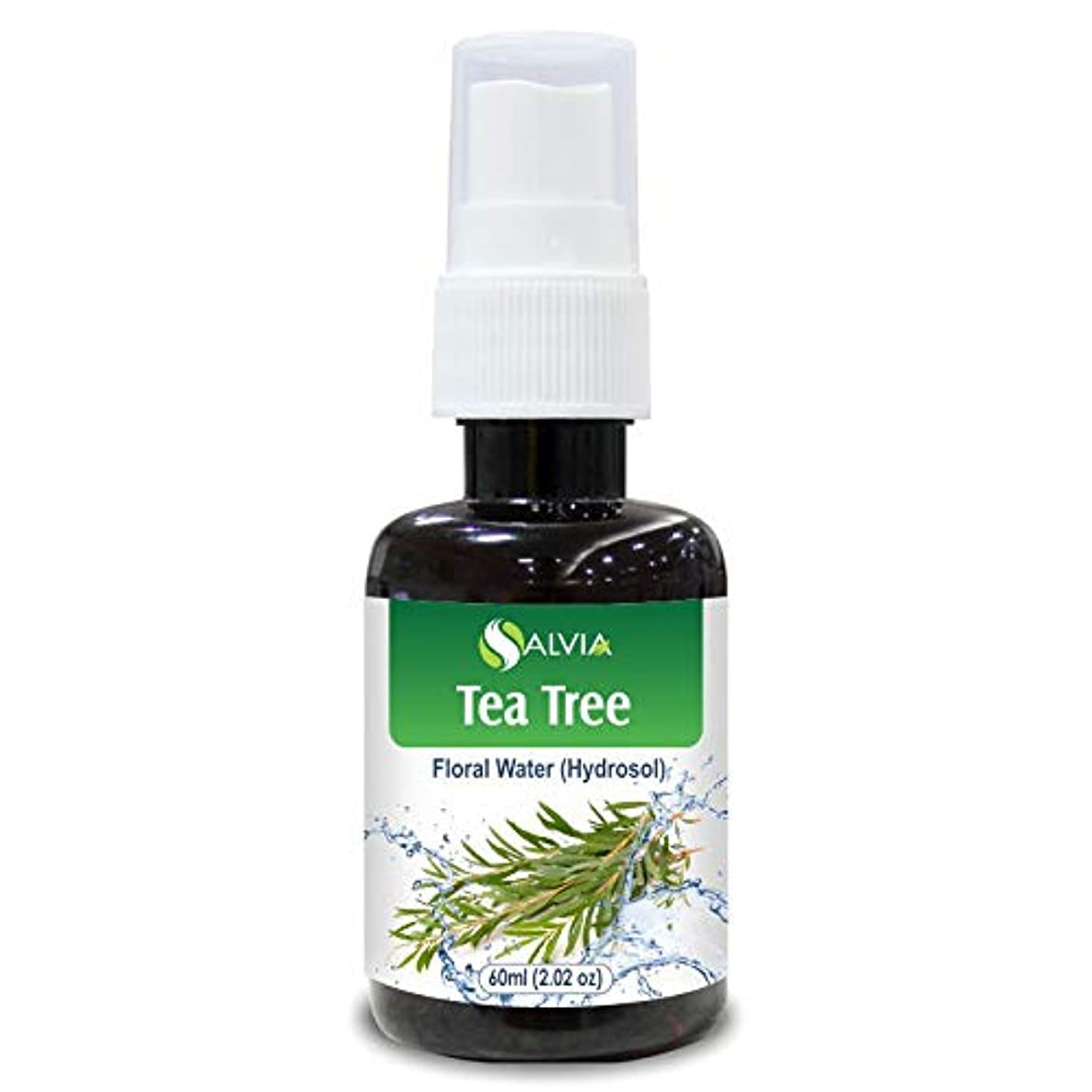 Tea Tree Floral Water 60ml (Hydrosol) 100% Pure And Natural