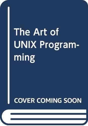 [画像:The Art of UNIX Programming]