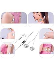 Mobile Massager Smart Shoulder Cervical Lumbar Vertebra Portable Massager Sticker Low Frequency Pulse Physiotherapy...