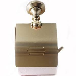 [Nikayoni Store's] トイレットペーパーホルダー ゴールド アンティーク調 トイレ用 ペーパーホルダー