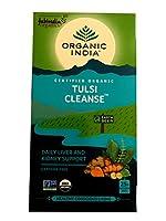 オーガニック インディア&ファブインディア トゥルシー クレンズ TULSI 【 CLEANSE 】 カフェイン無し 紅茶 25袋入り [並行輸入品]