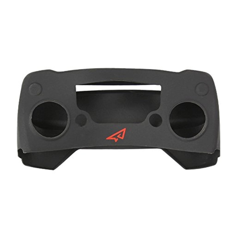 RaiFu DJI Mavic Pro Black用 トランスミッターカバー コントローラーシリコンプロテクタートランスミッターカバーダストカバーケース