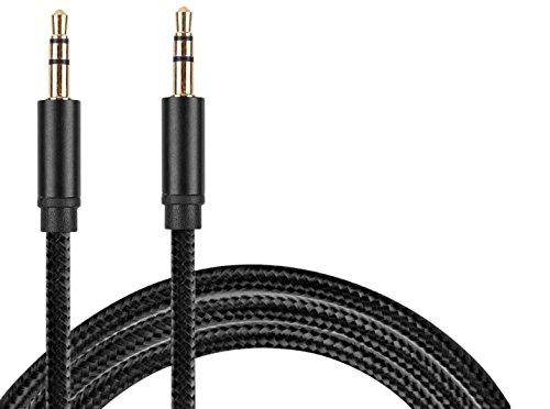 [해외]acon (에콘) 스테레오 AUX 케이블 1m (3.5㎜ 스테레오 남성 - 남성 단선에 강한 터프 케이블) 고음질 고해상도 HiFI 대응 android   Xperia   Galaxy S6   S6 Edge   iPhone 7 7 plus   6   6S   6 /acon stereo AUX cable 1 m (3.5 mm stereo mini ...