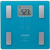 オムロン 体重・体組成計 カラダスキャン ブルー HBF-214-B