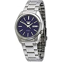 Seiko 5#SNKL43 Men's Stainless Steel Blue Dial Self Winding Automatic Watch