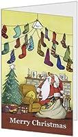 クリスマスカード(2つ折り ・封筒付き)Christmas CardNo.33