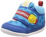 [ムーンスター] ベビーシューズ 靴 ドラえもん マジック 抗菌防臭 ゆったり DRM B03 DRM B03 ブルー 12.5 cm 2E