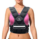Empower Weighted Vest for Women, Weight Vest for Running, Workout, Cardio, Walking, 4lb, 8lb, 16lb Adjustable Weight