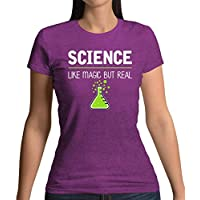 Science, Like Magic but Real - Womens T-Shirt - 13 Colours