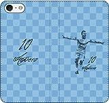 iPhone/Xperia/Galaxy/他機種選択可:サッカー/グラフィティ手帳ケース(デザイン:Cマンチェスター/10番_02) 07 iPhone8