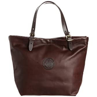 Leather Market Tote L-130: Brown