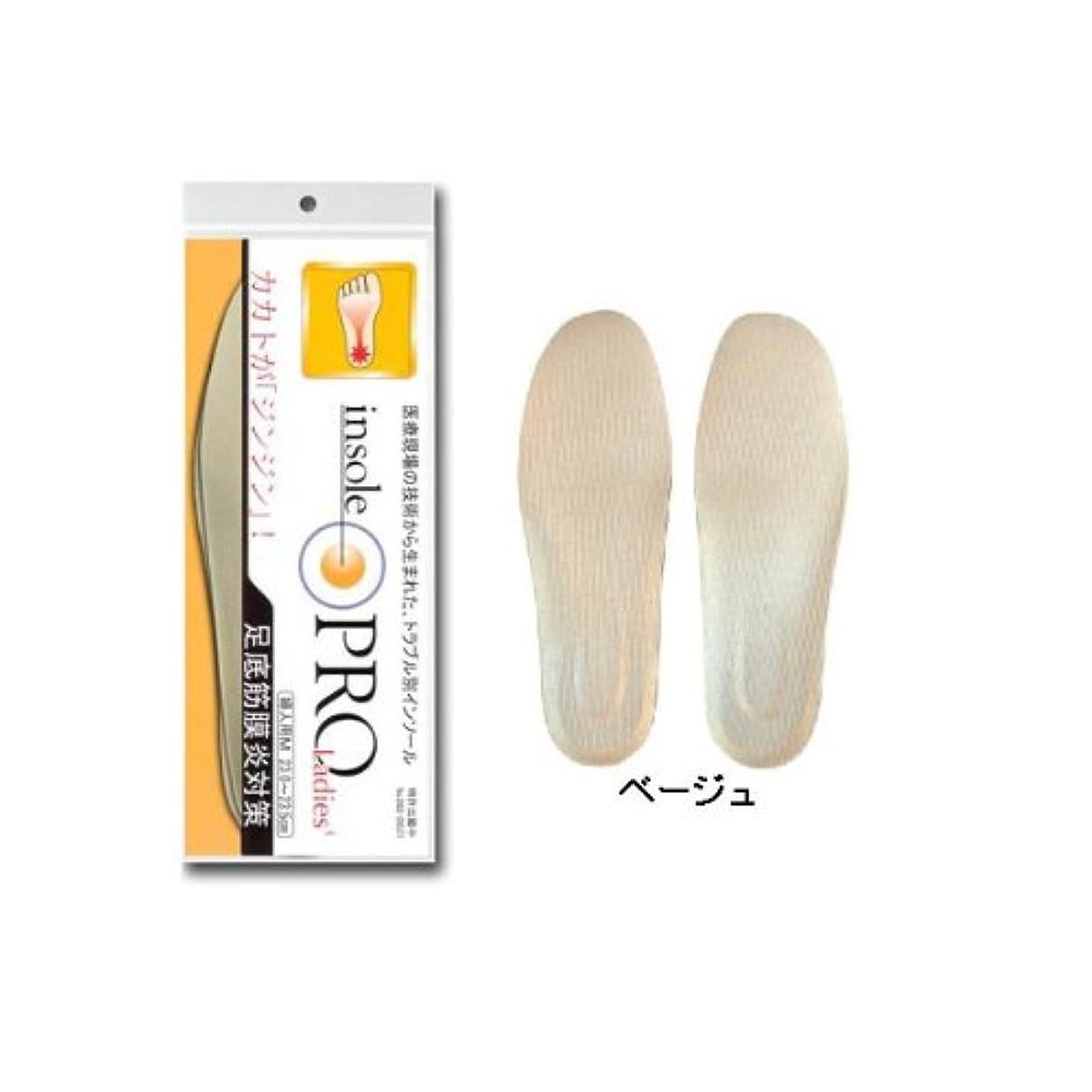 化合物ブロンズ不快インソールプロ「足底筋膜炎対策」 (女性用 S 22.0~22.5cm)