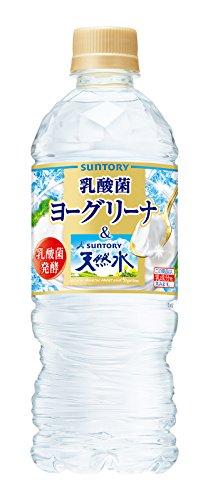 サントリー ヨーグリーナ&南アルプスの天然水(冷凍兼用) 540ml×24本