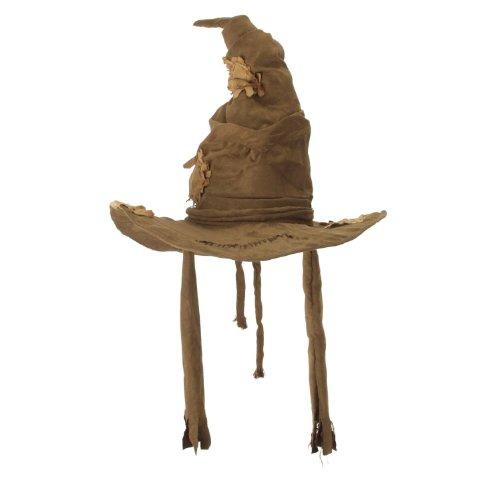 映画 ハリーポッターシリーズ ホグワーツ組分け帽子 公式ライセンス あなたはグリフィンドール ハッフルパフ レイブンクローそれともスリザリン?ハロウィンやクリスマスのコスチューム、コスプレ、仮装に 【並行輸入品】
