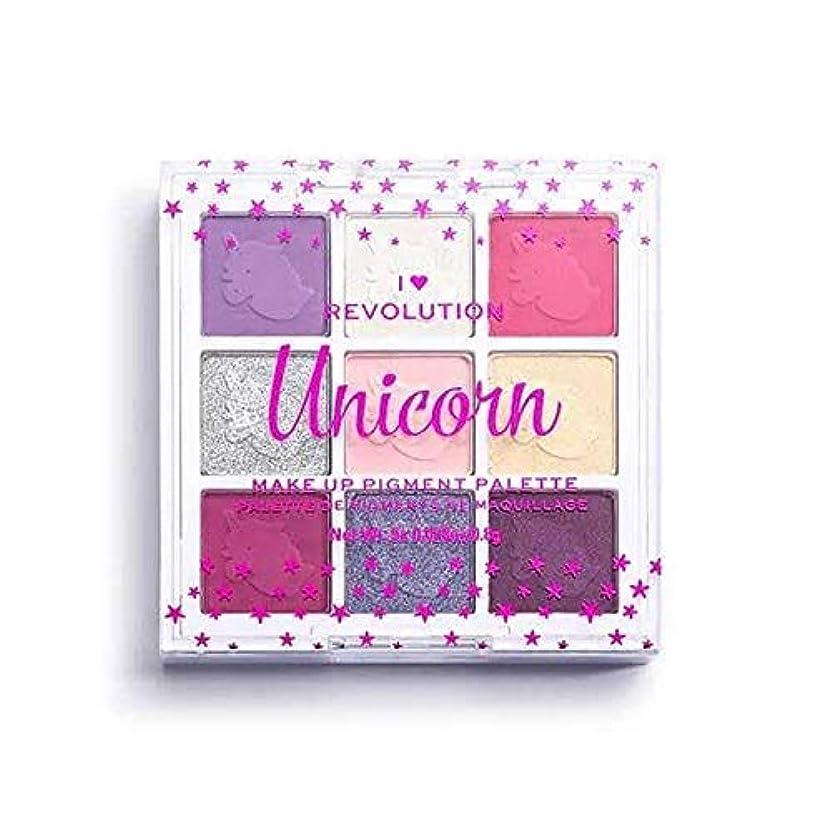 ゲートジャングルパーティー[I Heart Revolution ] 私の心の革命ファンタジーアイシャドウキットユニコーン - I Heart Revolution Fantasy Eyeshadow Kit Unicorn [並行輸入品]