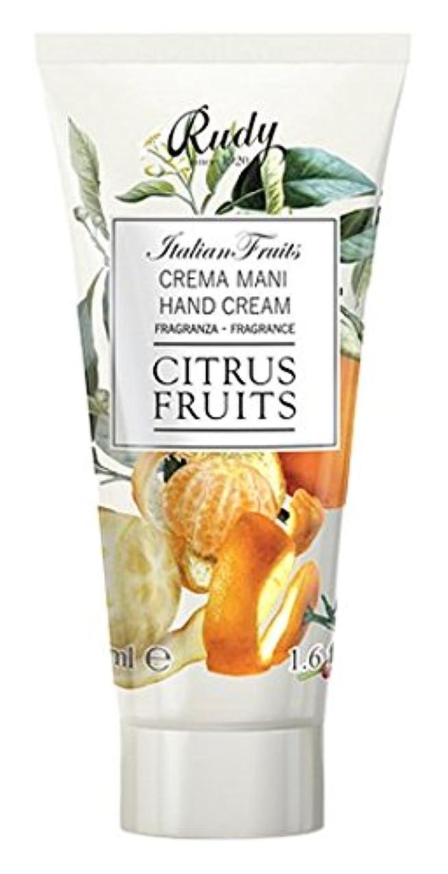上院乗り出す判定RUDY Italian Fruits Series ルディ イタリアンフルーツ Hand Cream ハンドクリーム Citrus Fruits