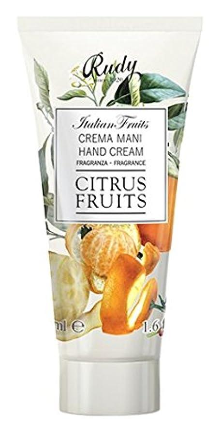 抜け目のない打撃発生RUDY Italian Fruits Series ルディ イタリアンフルーツ Hand Cream ハンドクリーム Citrus Fruits