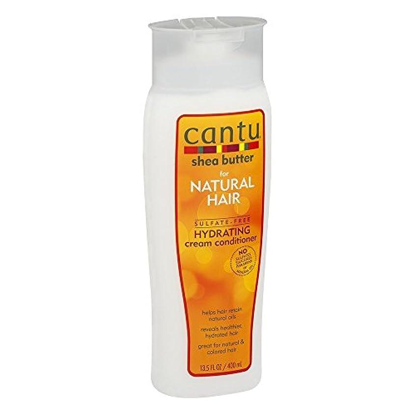 Cantu ナチュラルヘアコンディショナーハイド(硫酸フリー)13.5オンス(399Ml)(3パック)