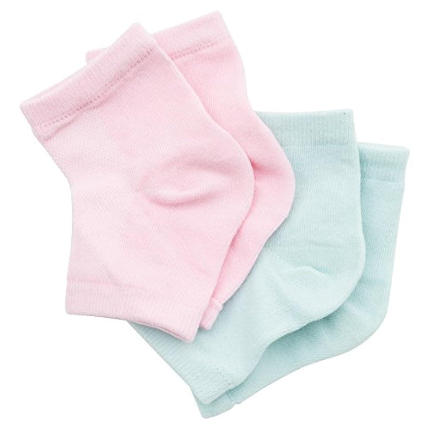 Viaura(ヴィオーラ) かかと 靴下 ソックス 角質ケア 滑らか スベスベ ツルツル うるおい 保湿 美容 ひび フットケア パック 洗える レディース メンズ 男女兼用 フリーサイズ 2足セット
