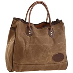 Standard Lake Michigan Tote Large 855: Field Tan Wax