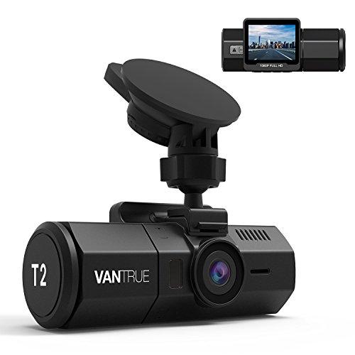 24時間監視 ドライブレコーダー VANTRUE T2 スー...