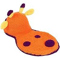 Prettyia 赤ちゃん帽子 新生児ニットかぎ針編みの服  写真の小道具  ビーニー  ギフト 全8様式