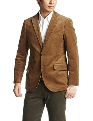 Stretch Corduroy 2-button Jacket 3122-186-0304: Brown