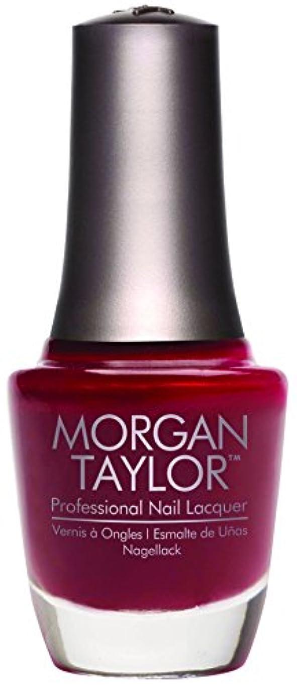 ヒロイン実り多い金属Morgan Taylor - Professional Nail Lacquer - A Touch of Sass - 15 mL / 0.5oz