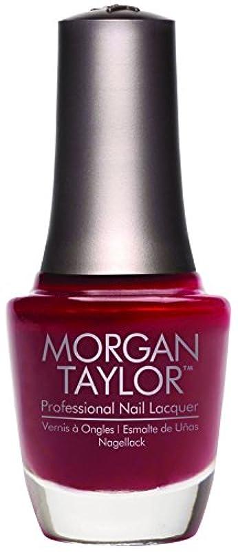 カプセル脅威ダニMorgan Taylor - Professional Nail Lacquer - A Touch of Sass - 15 mL / 0.5oz