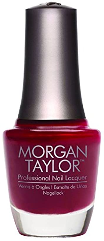 重くする光のぞっとするようなMorgan Taylor - Professional Nail Lacquer - A Touch of Sass - 15 mL / 0.5oz