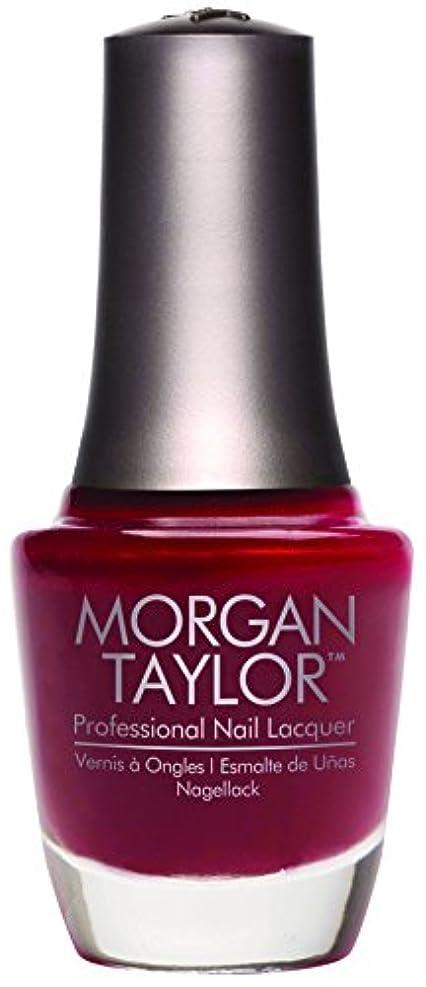 ノーブル恥ずかしさ招待Morgan Taylor - Professional Nail Lacquer - A Touch of Sass - 15 mL / 0.5oz