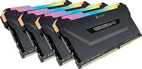CORSAIR DDR4-3200MHz デスクトップPC用 メモリモジュール VENGEANCE RGB PRO シリーズ 32GB [8GB×4枚] CMW32GX4M4C3200C16