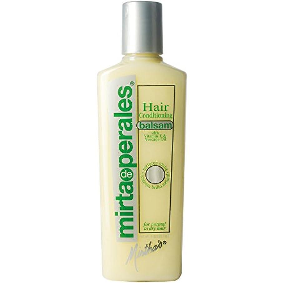 区画噴水バラ色Mirta De Perales 髪のコンディショニングバルサム8オンス