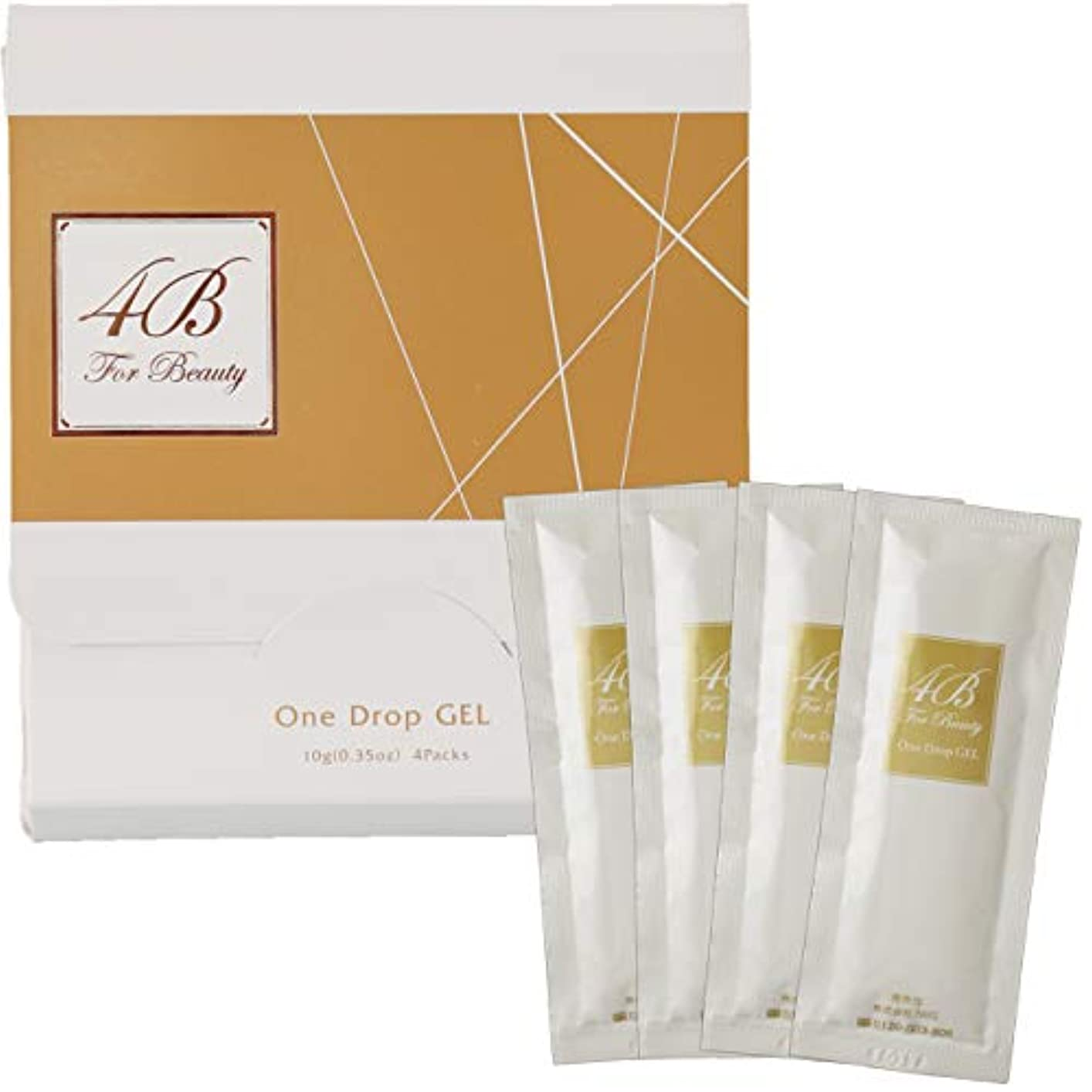 4B One Drop Gel(フォービー ワンドロップジェル)混ぜない炭酸パック 1剤式 10g×4包