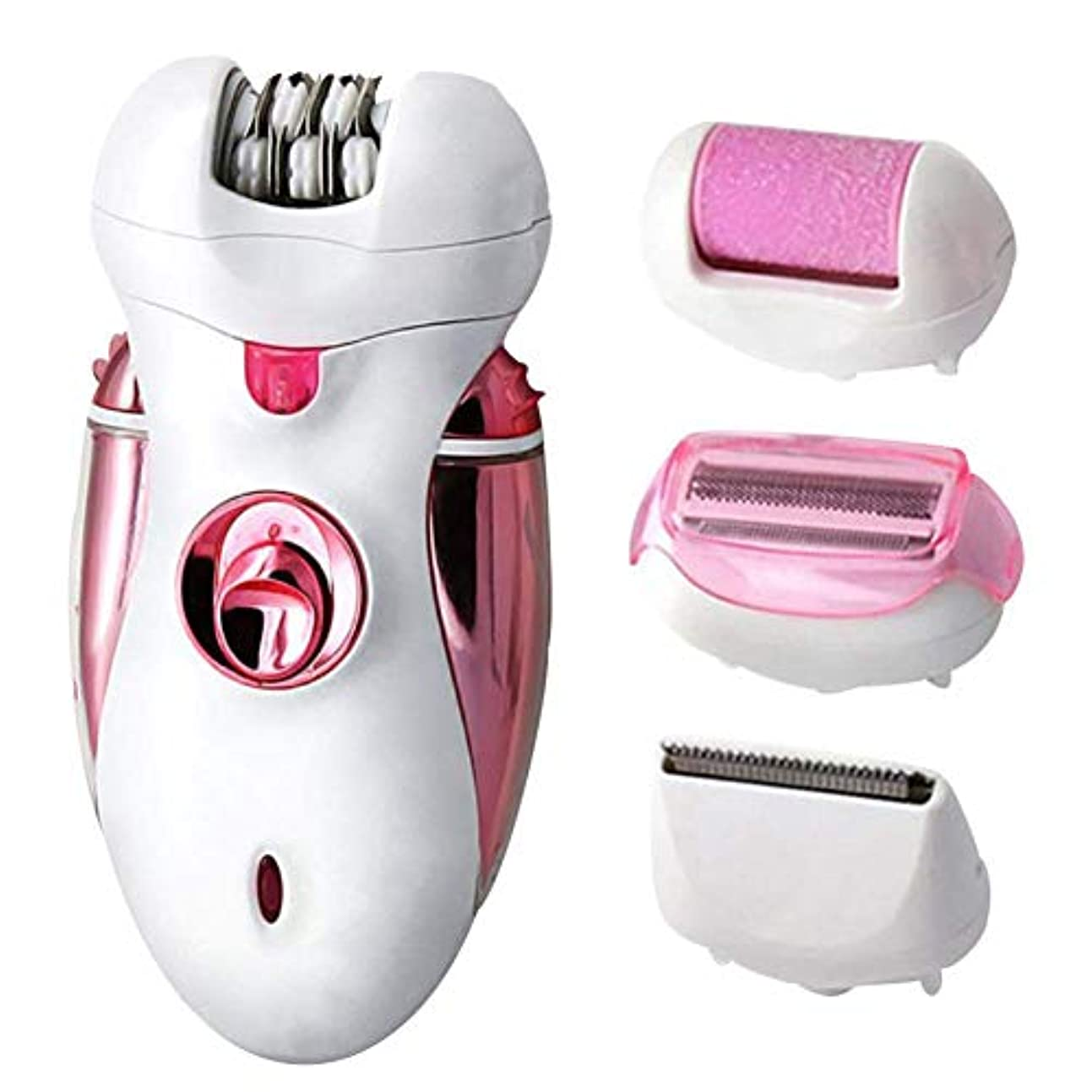 4-in-1女性の脱毛器ファッション多機能スタイリッシュな脱毛装置usb充電グライナーヘアシェービングマシン