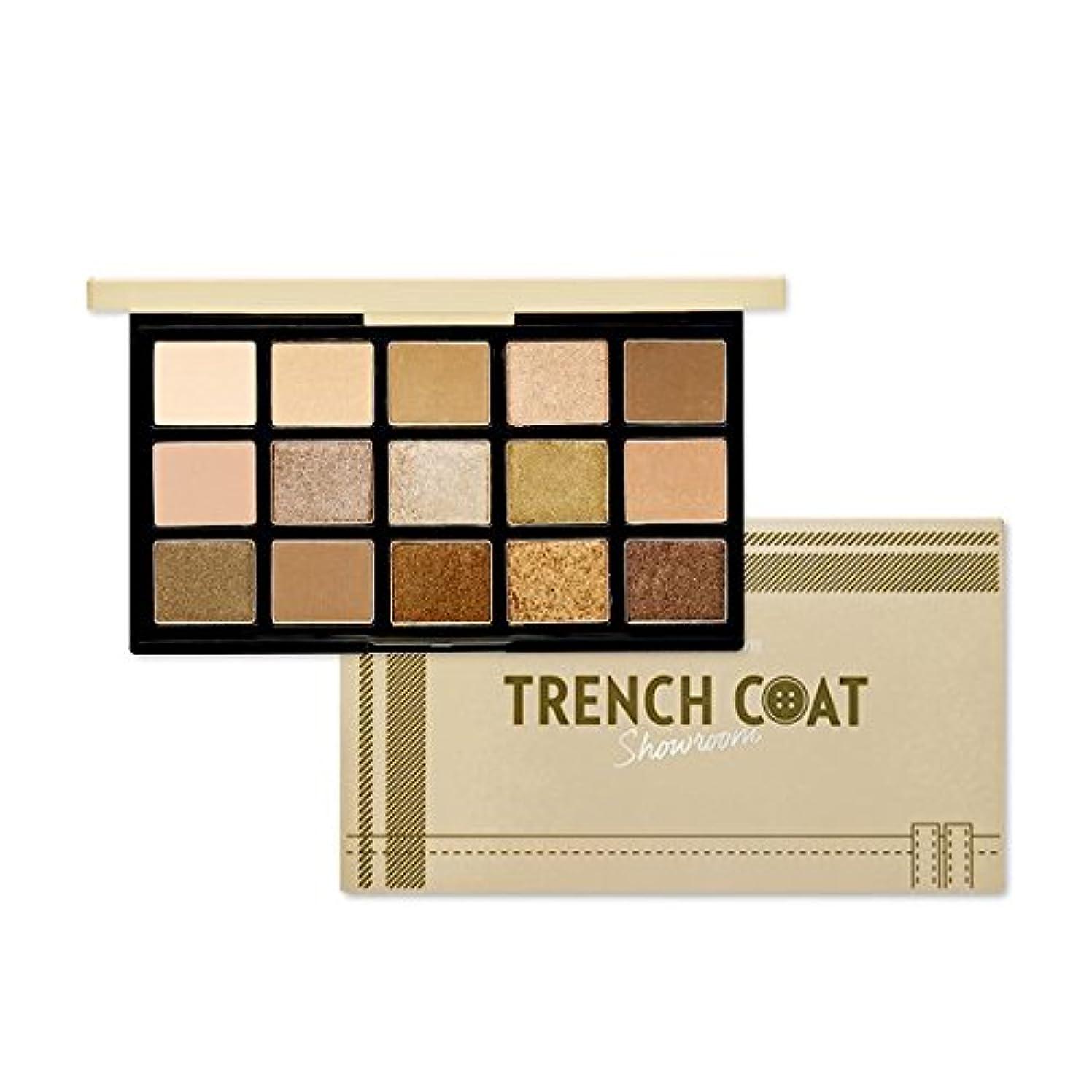 森水銀のオレンジETUDE HOUSE Play Color Eye Palette - Trench coat Showroom/エチュードハウスプレイカラーアイパレット - トレンチコートショールーム [並行輸入品]