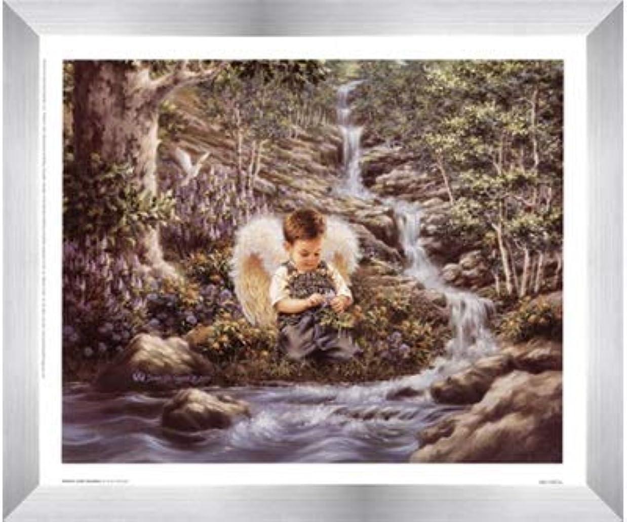 パンダパンダボウリングNature 's Little Guardian By Dona Gelsinger – 12 x 10インチ – アートプリントポスター LE_474489-F9935-12x10