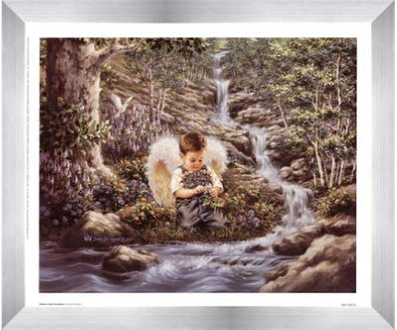 捨てるメニュー埋め込むNature 's Little Guardian By Dona Gelsinger – 12 x 10インチ – アートプリントポスター LE_474489-F9935-12x10