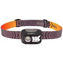 Nite Ize Radiant 200 LED Headlamp - Tough Design With Three White Modes and Red Mode for Night Vision